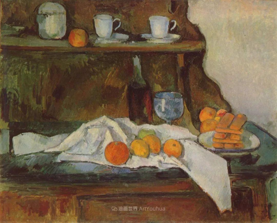 现代绘画之父塞尚,静物作品精选99幅插图127