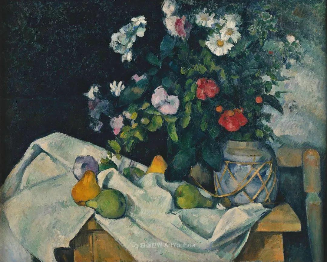 现代绘画之父塞尚,静物作品精选99幅插图129