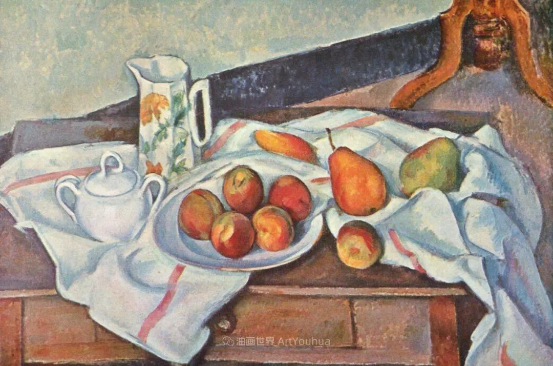 现代绘画之父塞尚,静物作品精选99幅插图131