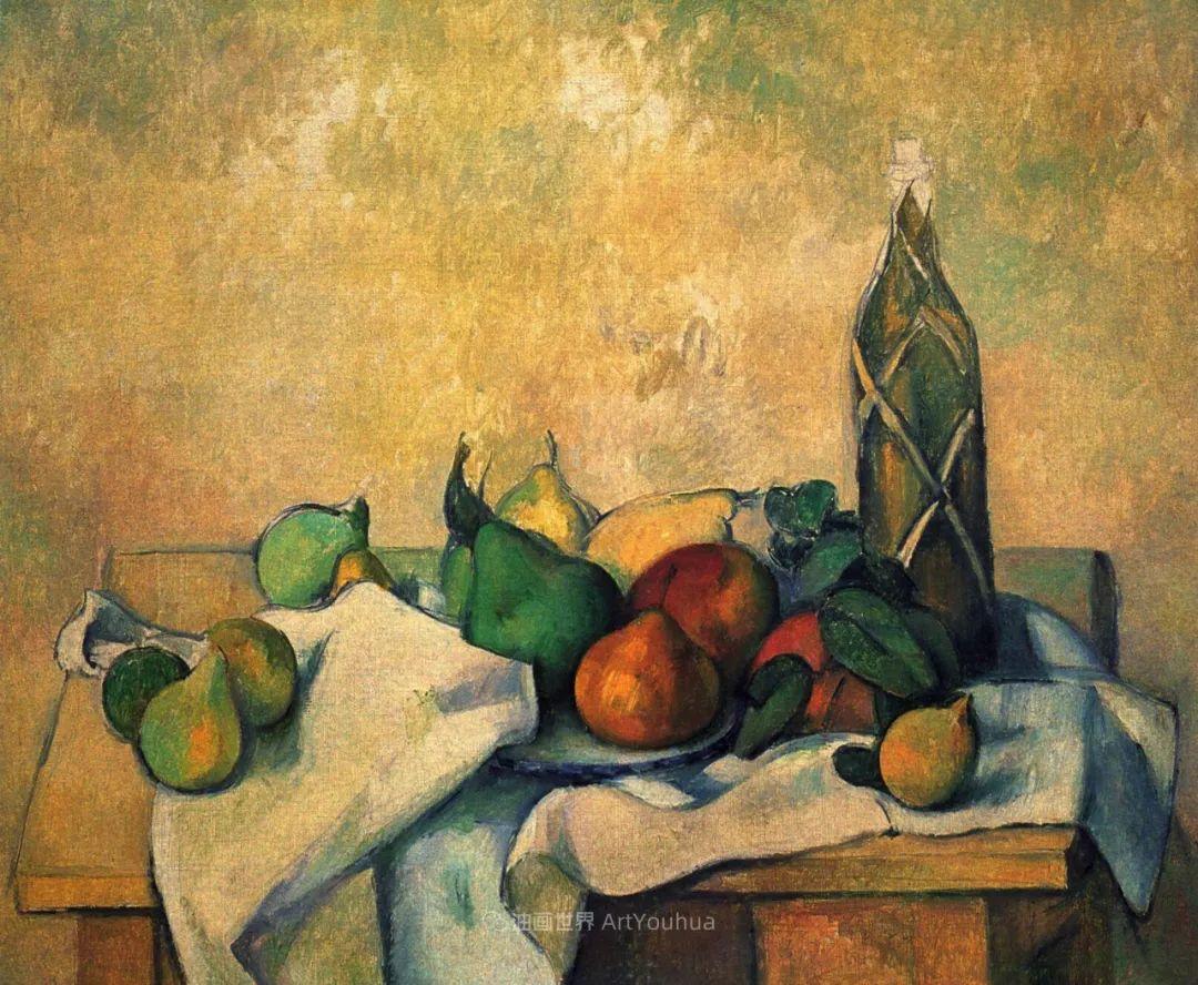 现代绘画之父塞尚,静物作品精选99幅插图133