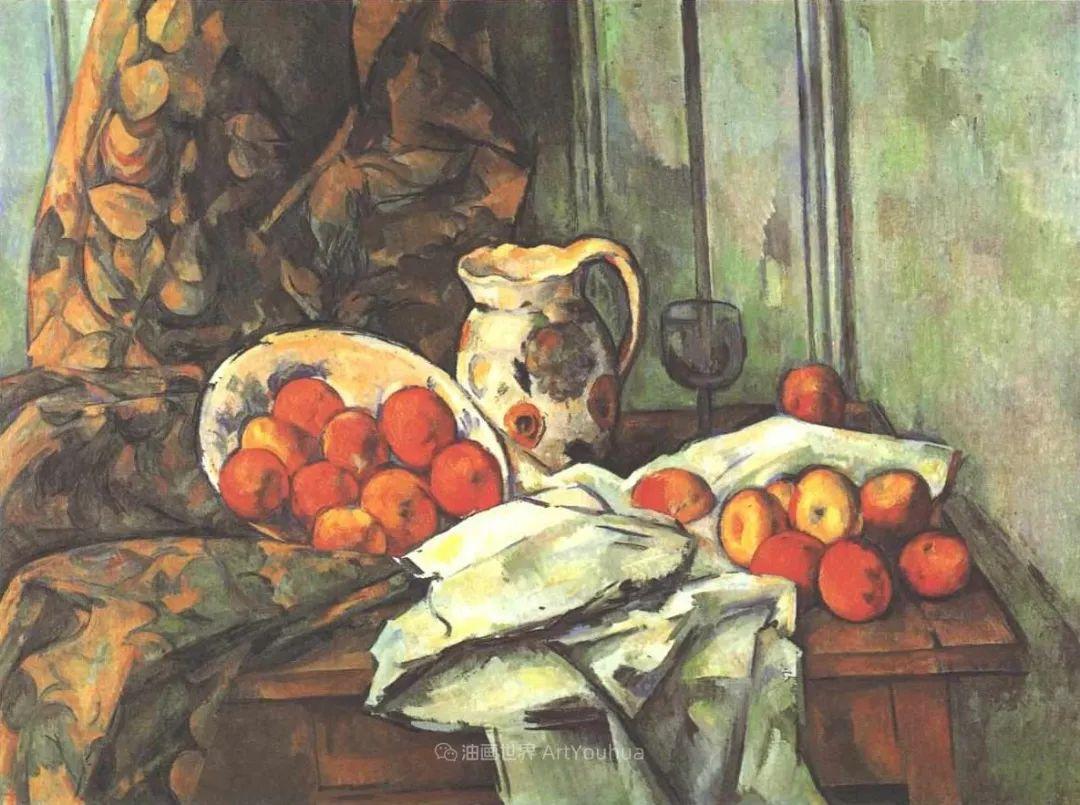 现代绘画之父塞尚,静物作品精选99幅插图139