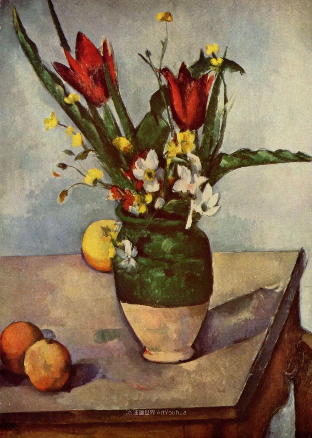 现代绘画之父塞尚,静物作品精选99幅插图145