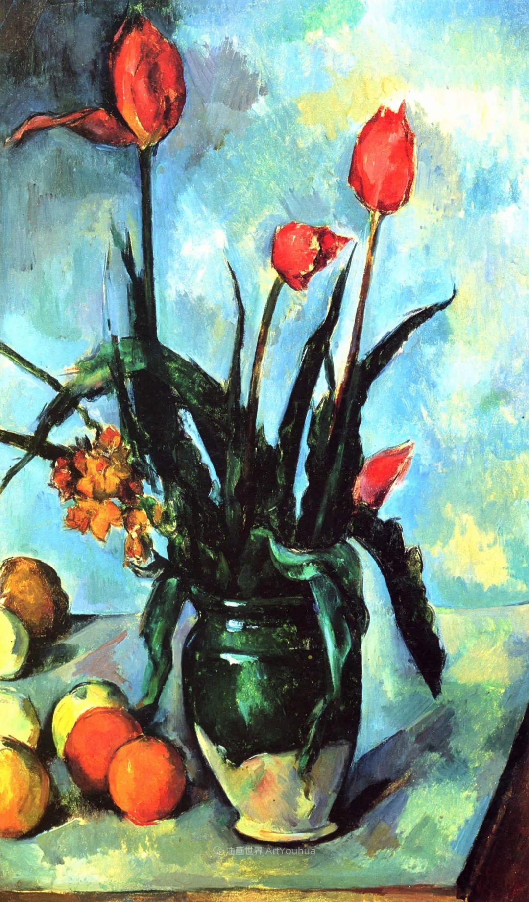 现代绘画之父塞尚,静物作品精选99幅插图151
