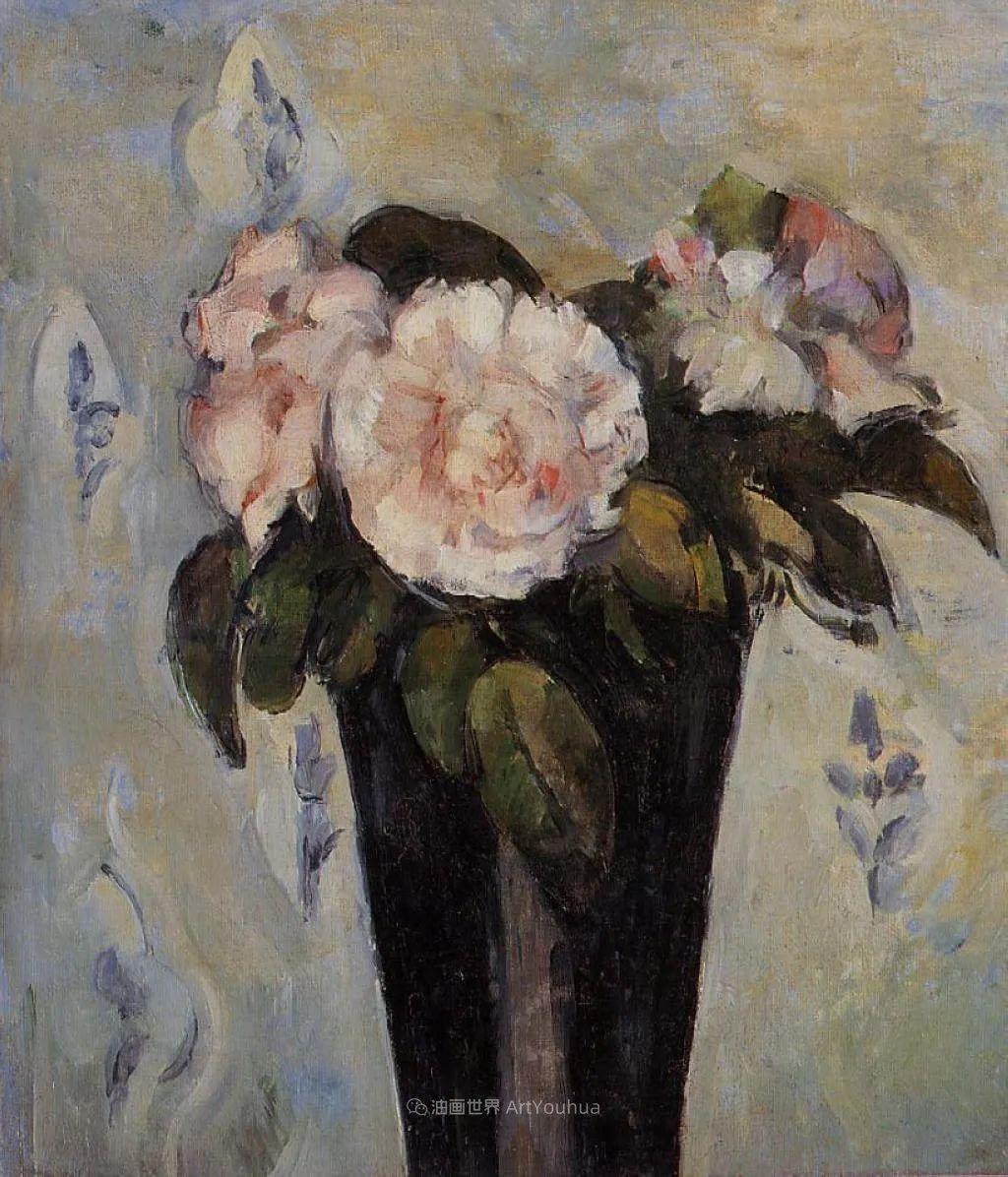 现代绘画之父塞尚,静物作品精选99幅插图153