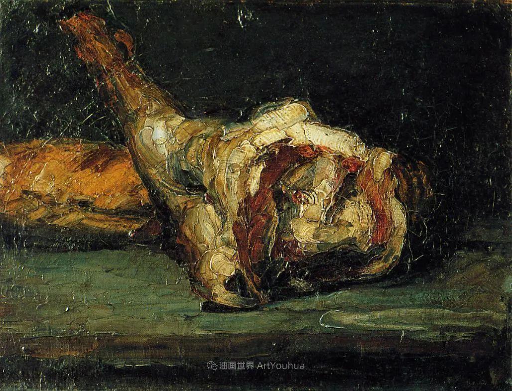 现代绘画之父塞尚,静物作品精选99幅插图155