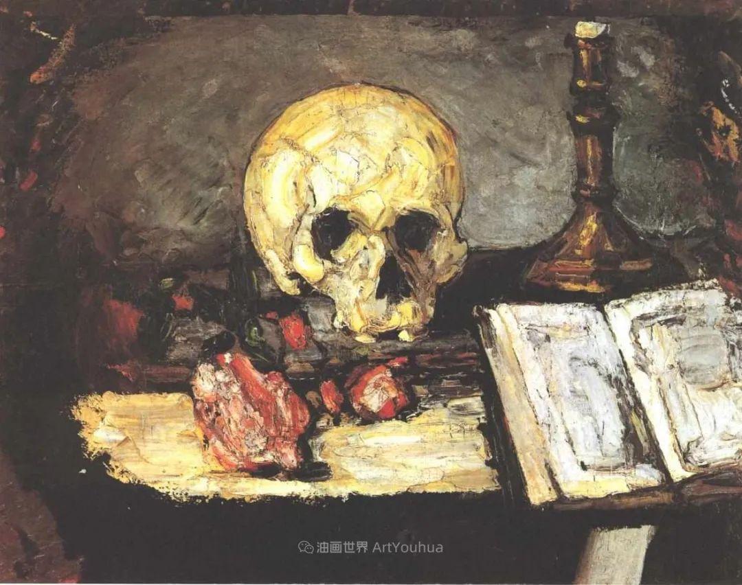 现代绘画之父塞尚,静物作品精选99幅插图157