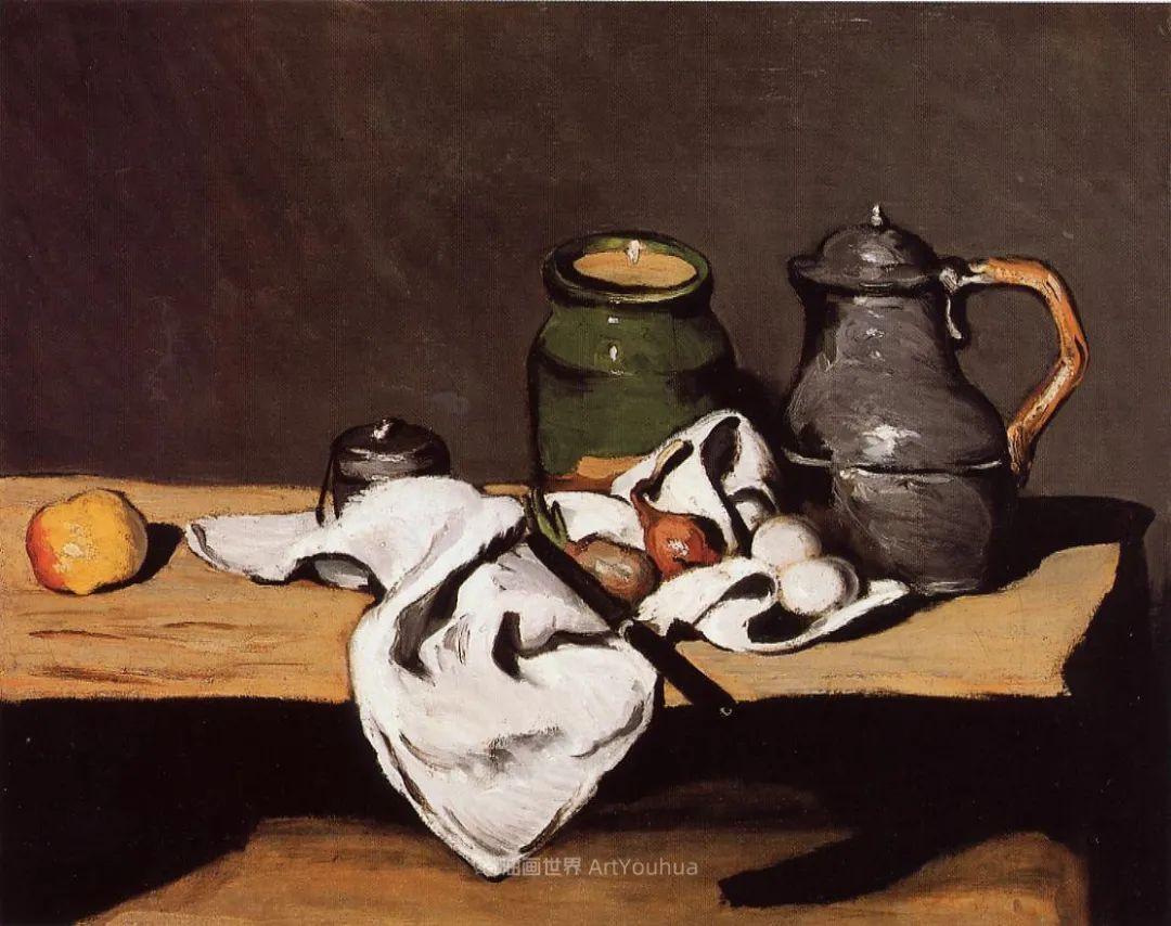 现代绘画之父塞尚,静物作品精选99幅插图165