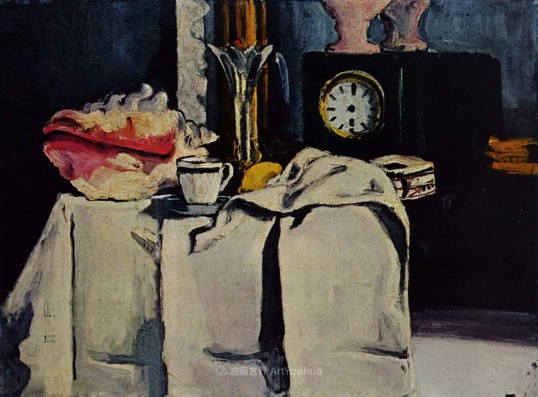 现代绘画之父塞尚,静物作品精选99幅插图167