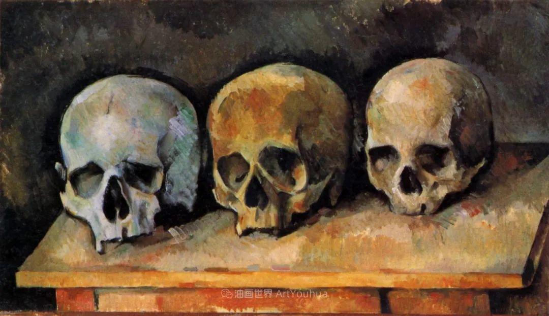 现代绘画之父塞尚,静物作品精选99幅插图185