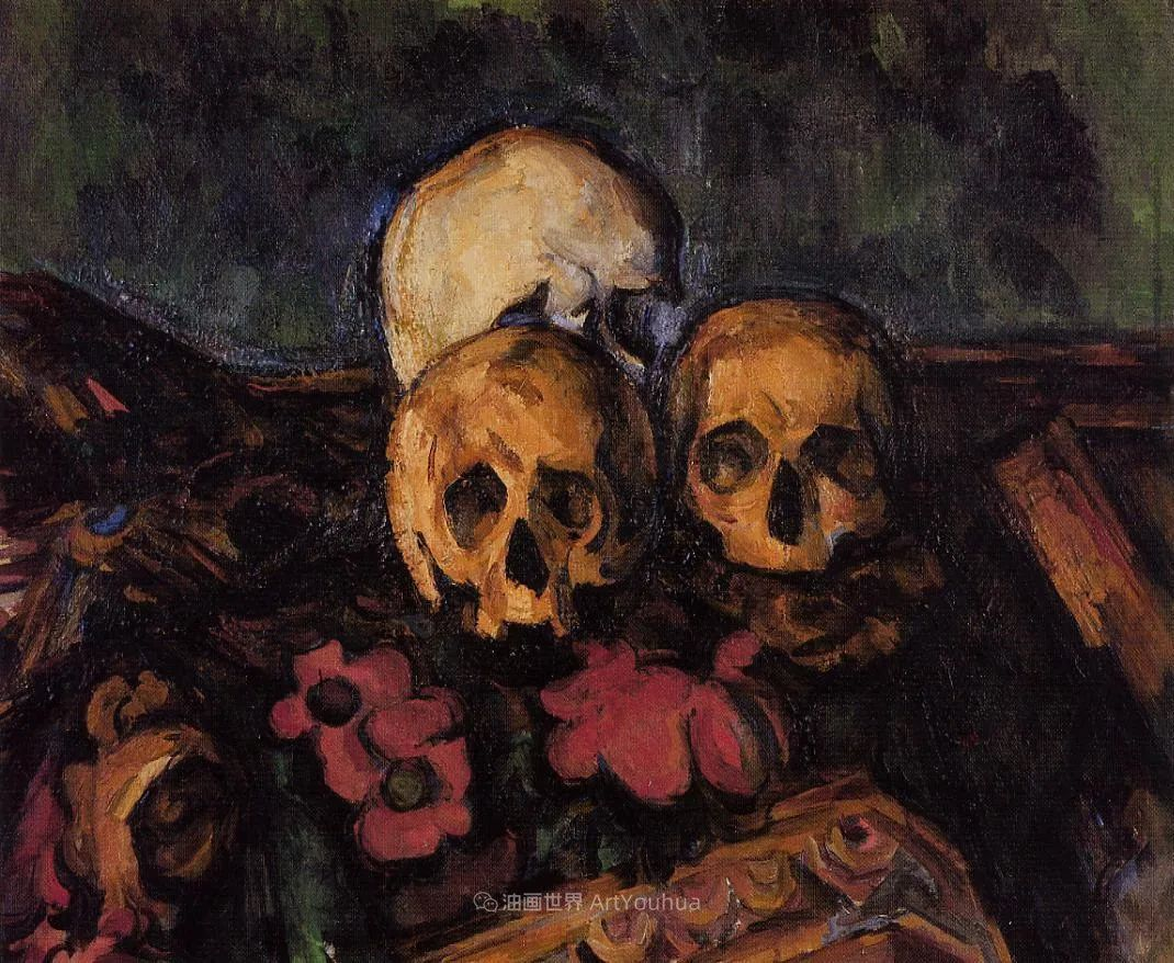 现代绘画之父塞尚,静物作品精选99幅插图187