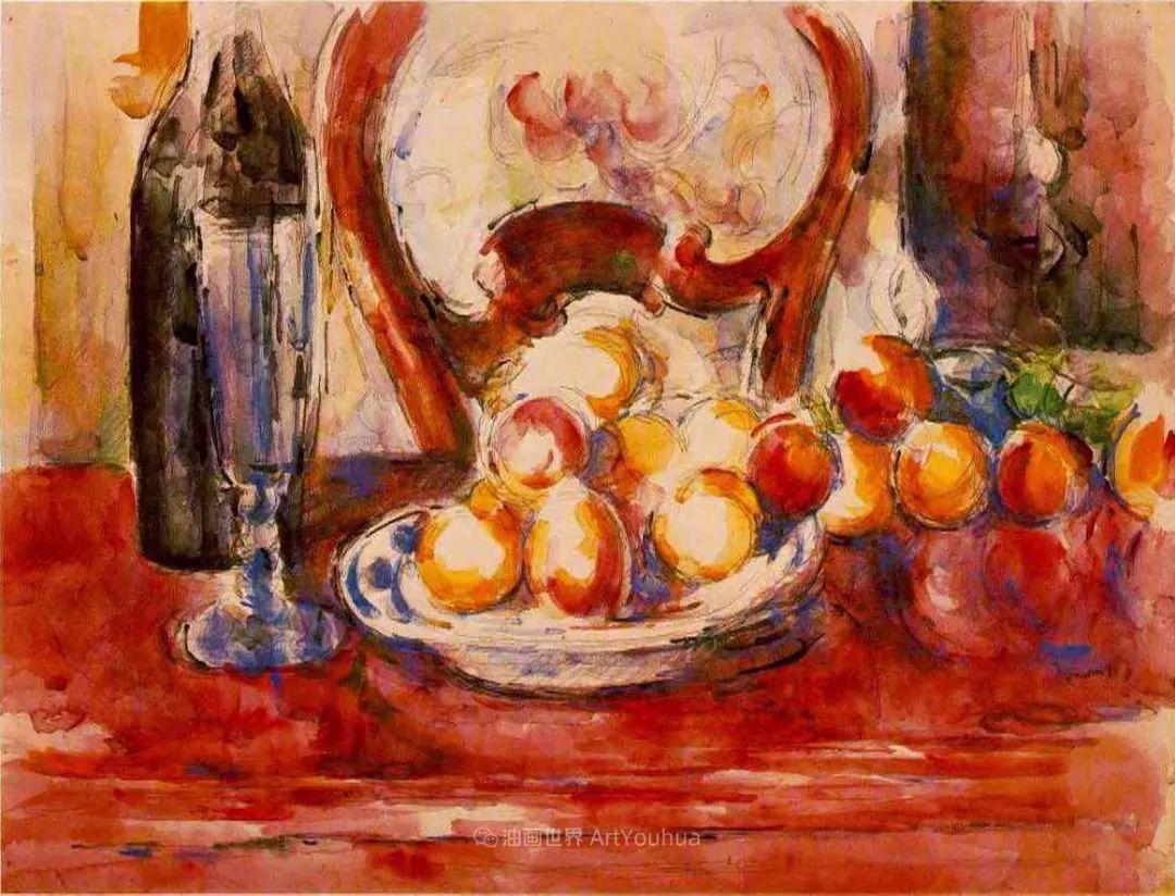 现代绘画之父塞尚,静物作品精选99幅插图189
