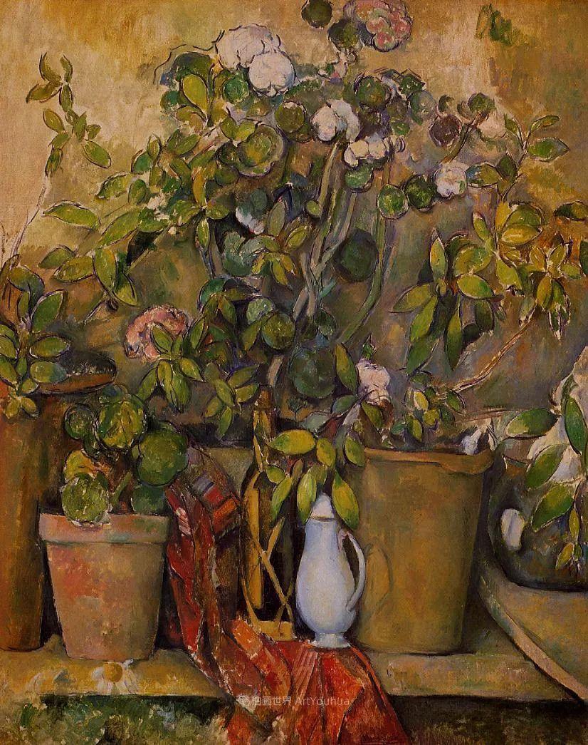 现代绘画之父塞尚,静物作品精选99幅插图191