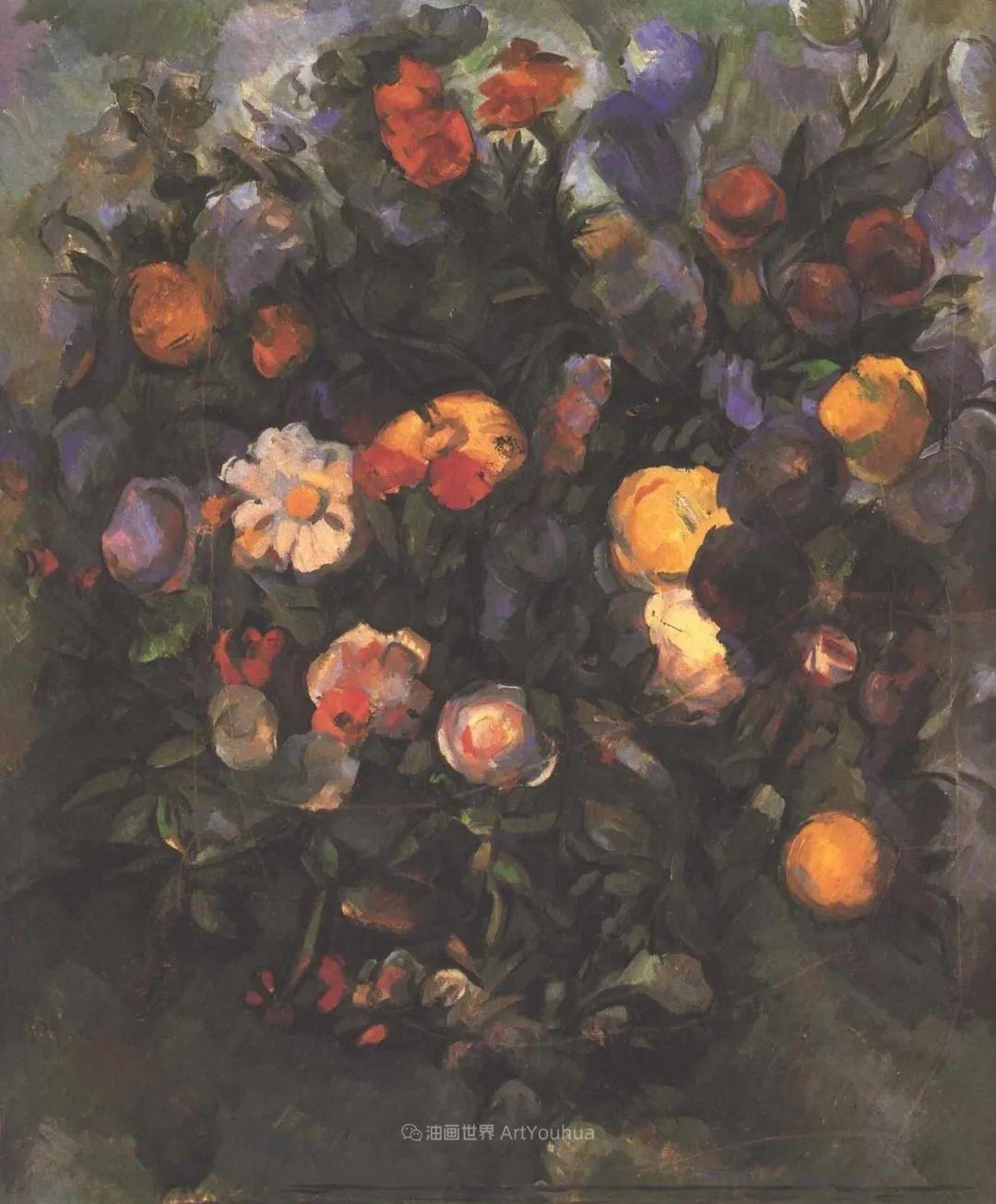 现代绘画之父塞尚,静物作品精选99幅插图195