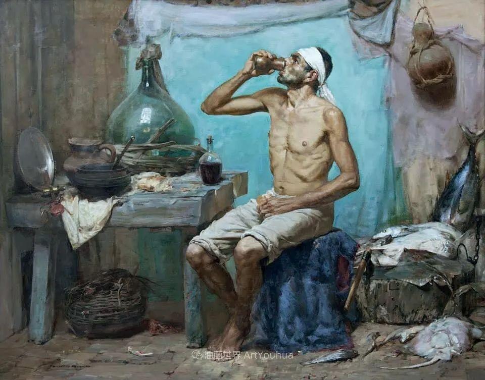旅俄的巴西学院现实主义画家,吉尔伯托·杰拉尔多插图65