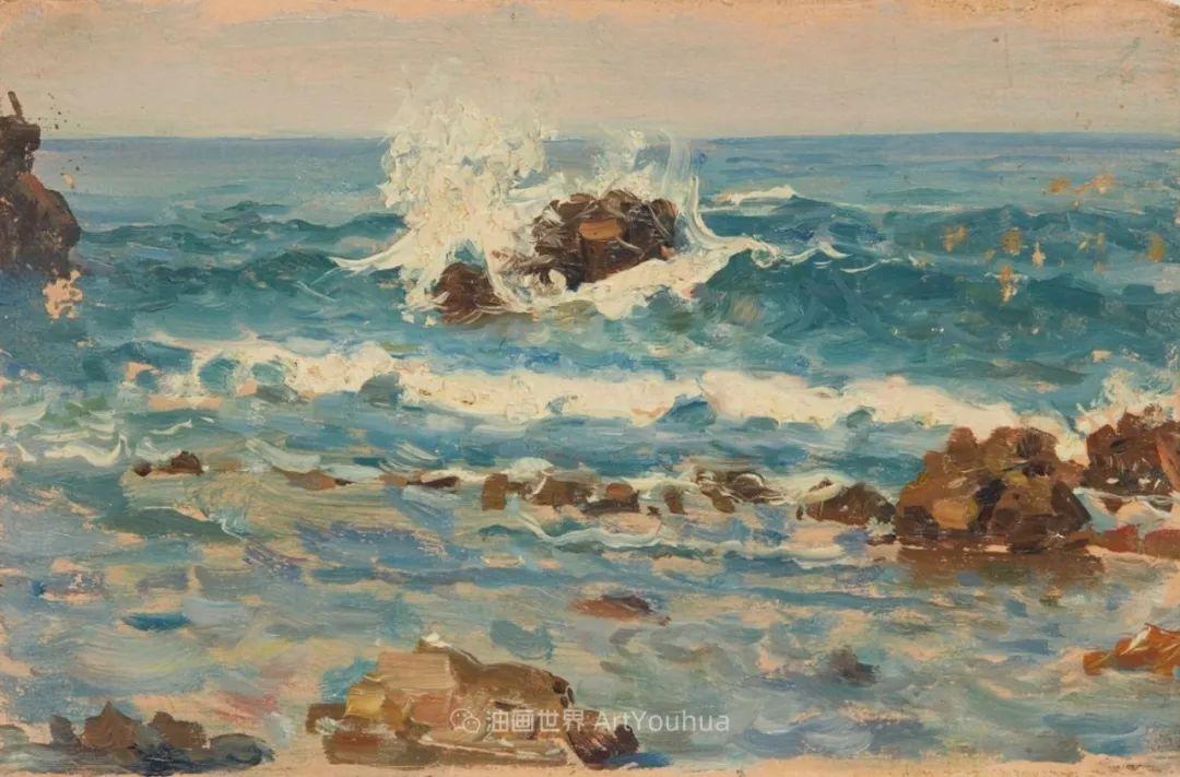 诗意、没有边际的海景画!插图31