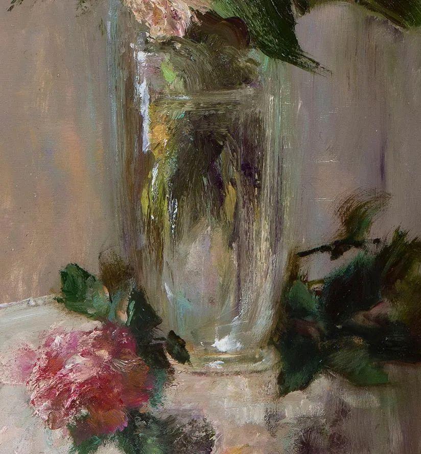 厚重油画感十足的花卉,真不敢相信出自女生之手插图19