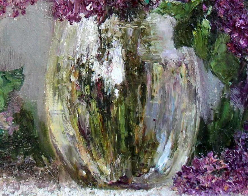 厚重油画感十足的花卉,真不敢相信出自女生之手插图27