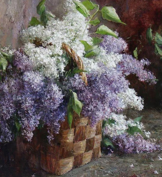 厚重油画感十足的花卉,真不敢相信出自女生之手插图37