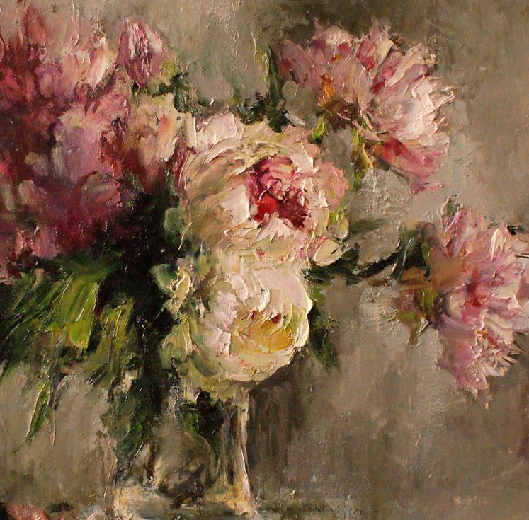 厚重油画感十足的花卉,真不敢相信出自女生之手插图45