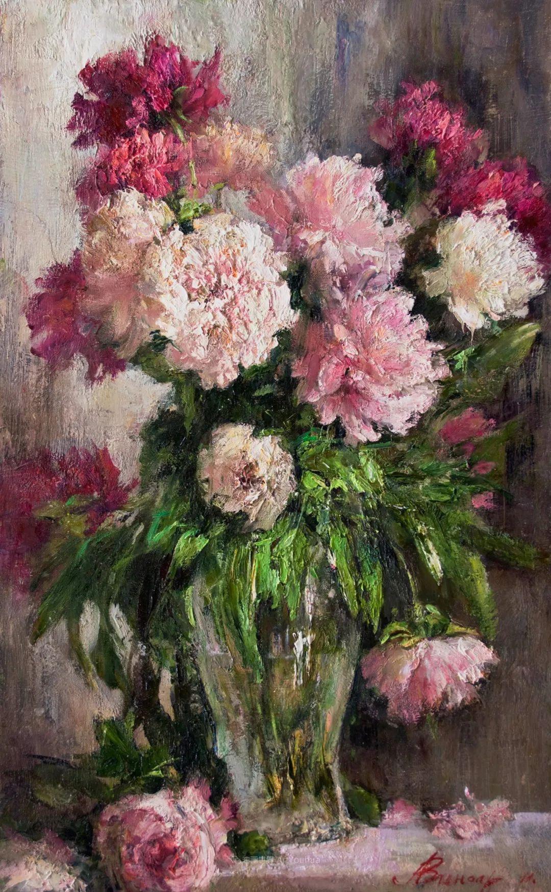 厚重油画感十足的花卉,真不敢相信出自女生之手插图51