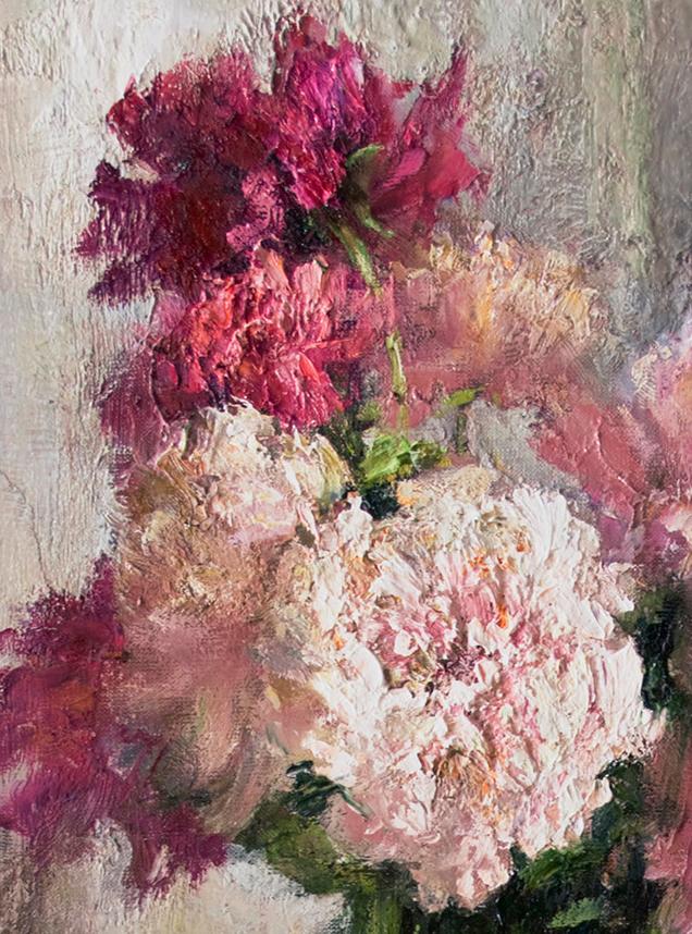 厚重油画感十足的花卉,真不敢相信出自女生之手插图53