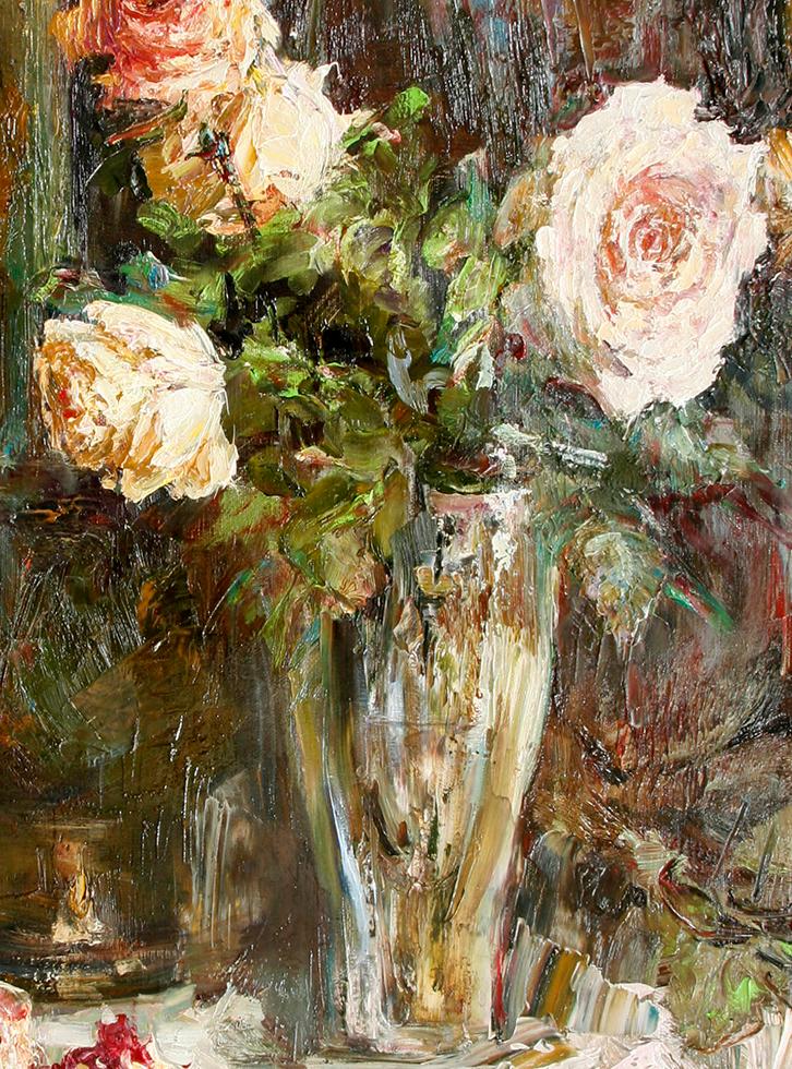 厚重油画感十足的花卉,真不敢相信出自女生之手插图63