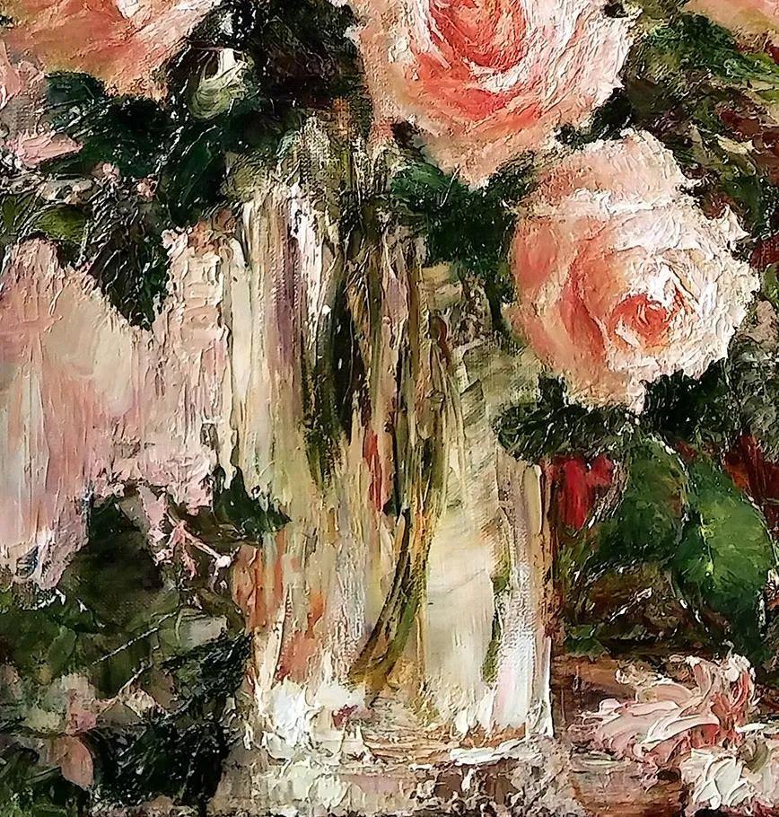 厚重油画感十足的花卉,真不敢相信出自女生之手插图87