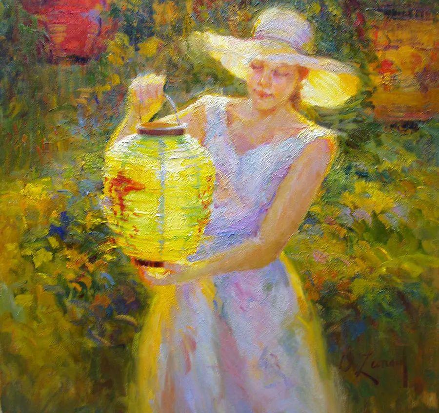 自学成才的她,画里充满了色彩、光和大大的笔触!插图3
