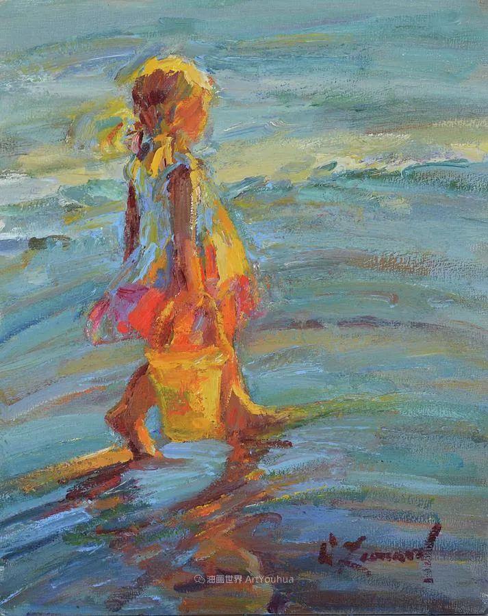 自学成才的她,画里充满了色彩、光和大大的笔触!插图9