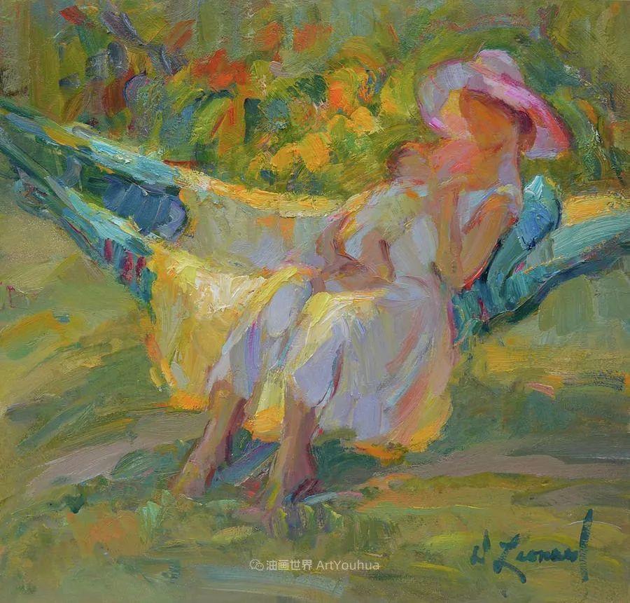 自学成才的她,画里充满了色彩、光和大大的笔触!插图19