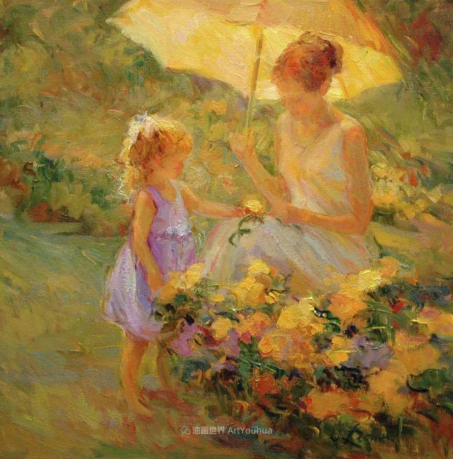 自学成才的她,画里充满了色彩、光和大大的笔触!插图21
