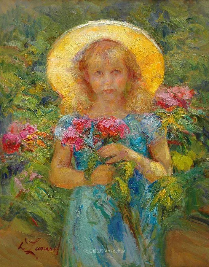 自学成才的她,画里充满了色彩、光和大大的笔触!插图23