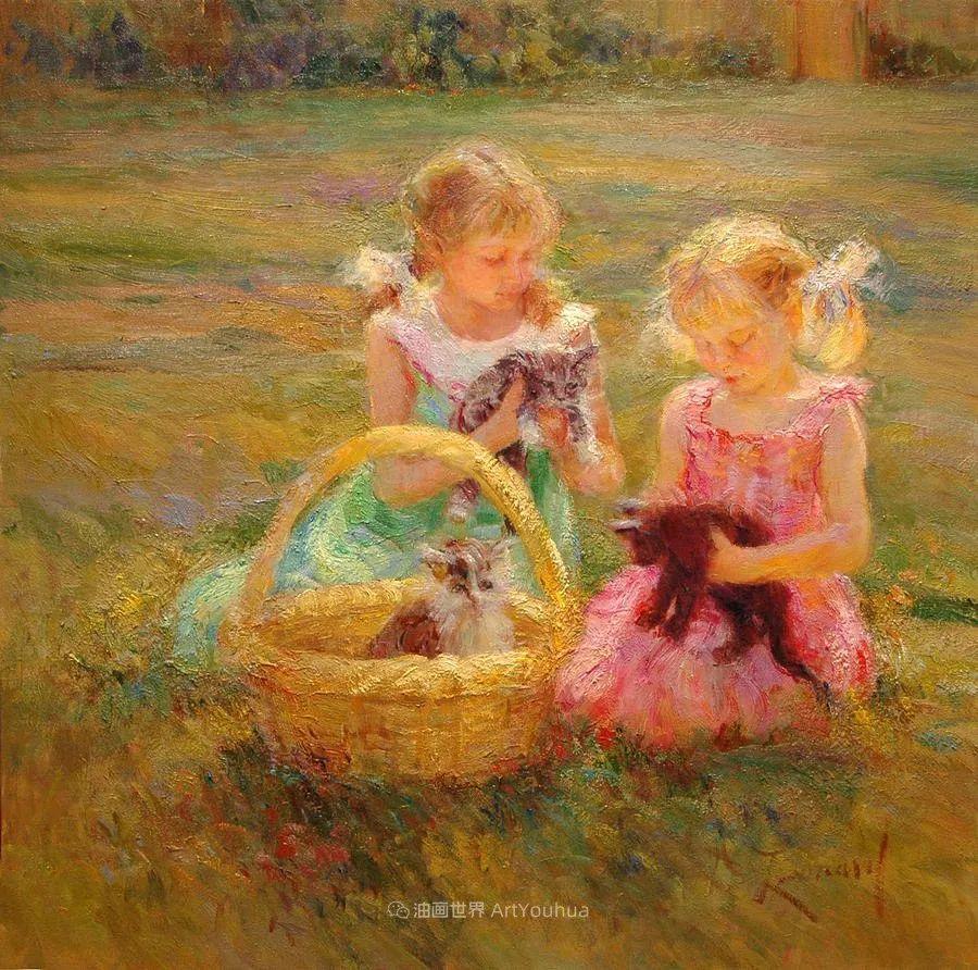 自学成才的她,画里充满了色彩、光和大大的笔触!插图25