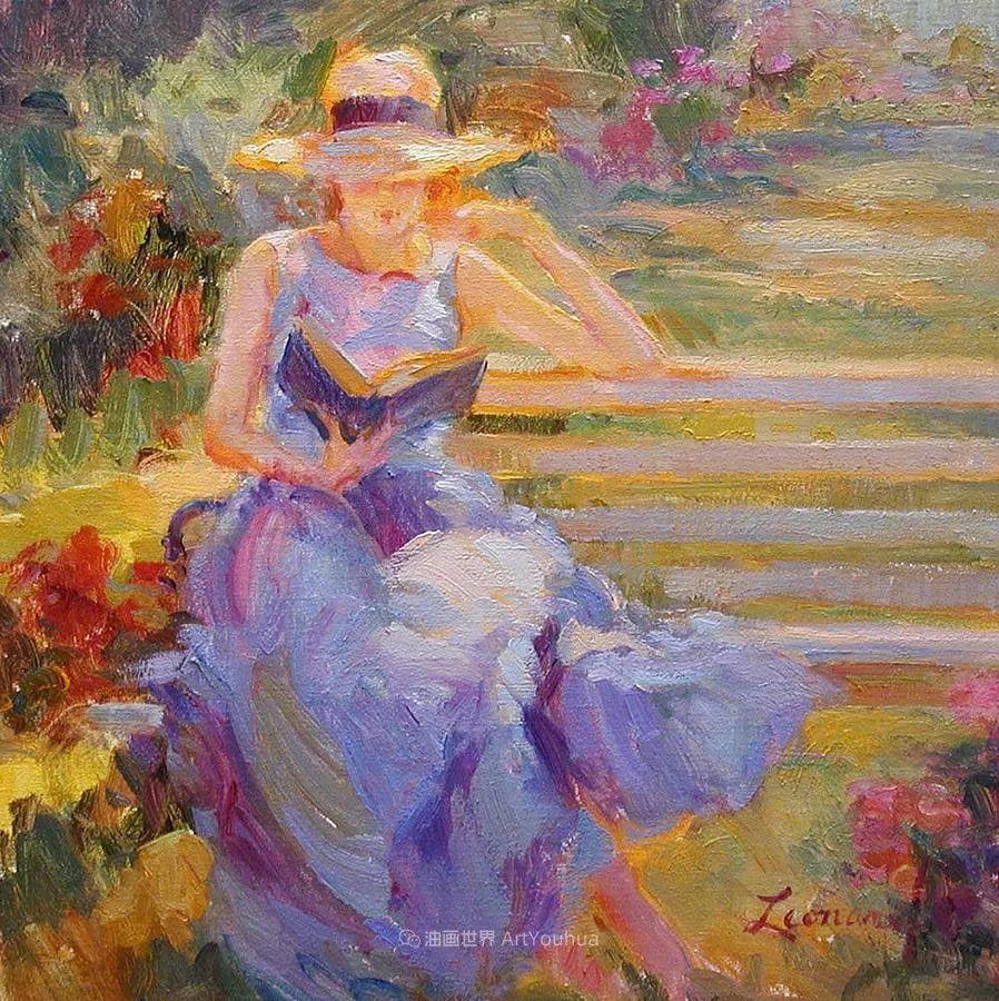 自学成才的她,画里充满了色彩、光和大大的笔触!插图27