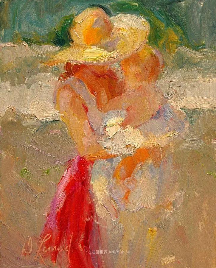 自学成才的她,画里充满了色彩、光和大大的笔触!插图29