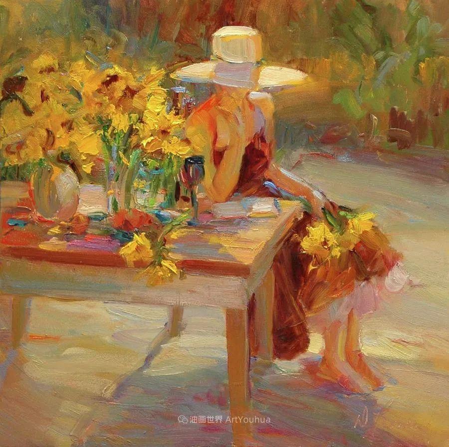 自学成才的她,画里充满了色彩、光和大大的笔触!插图33