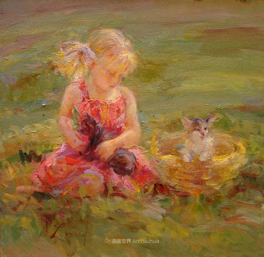 自学成才的她,画里充满了色彩、光和大大的笔触!插图37