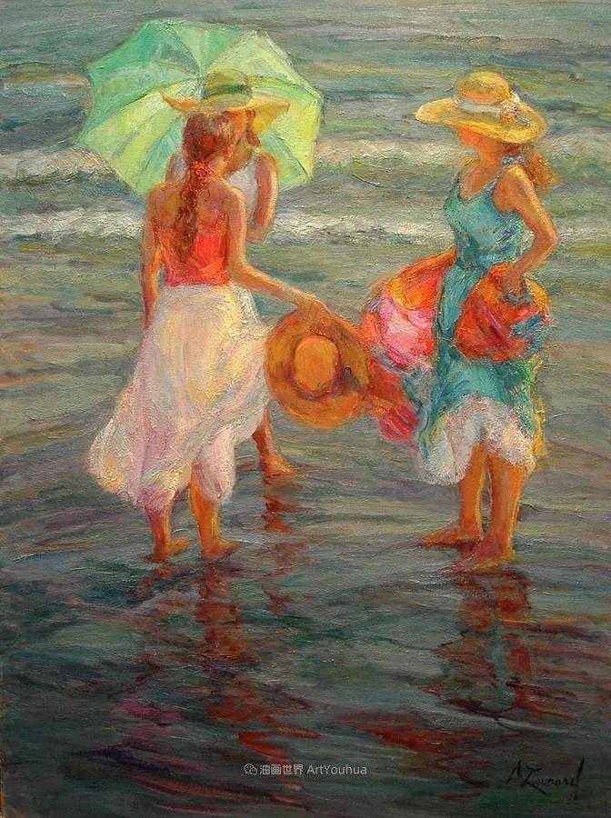 自学成才的她,画里充满了色彩、光和大大的笔触!插图39