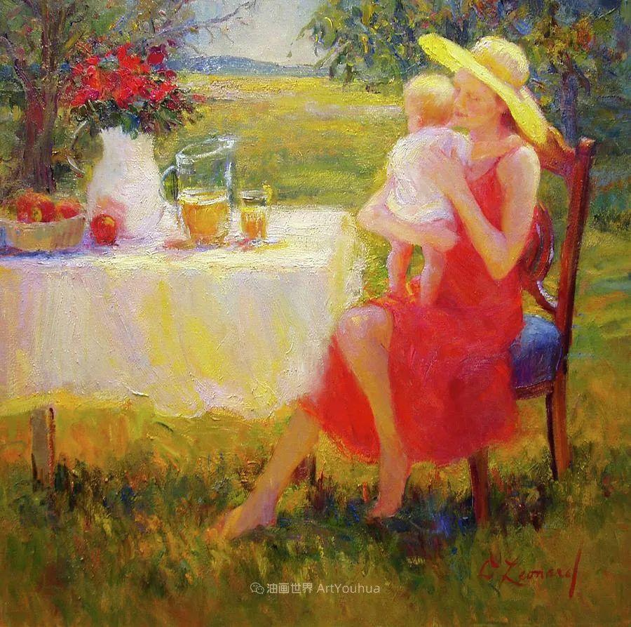 自学成才的她,画里充满了色彩、光和大大的笔触!插图41
