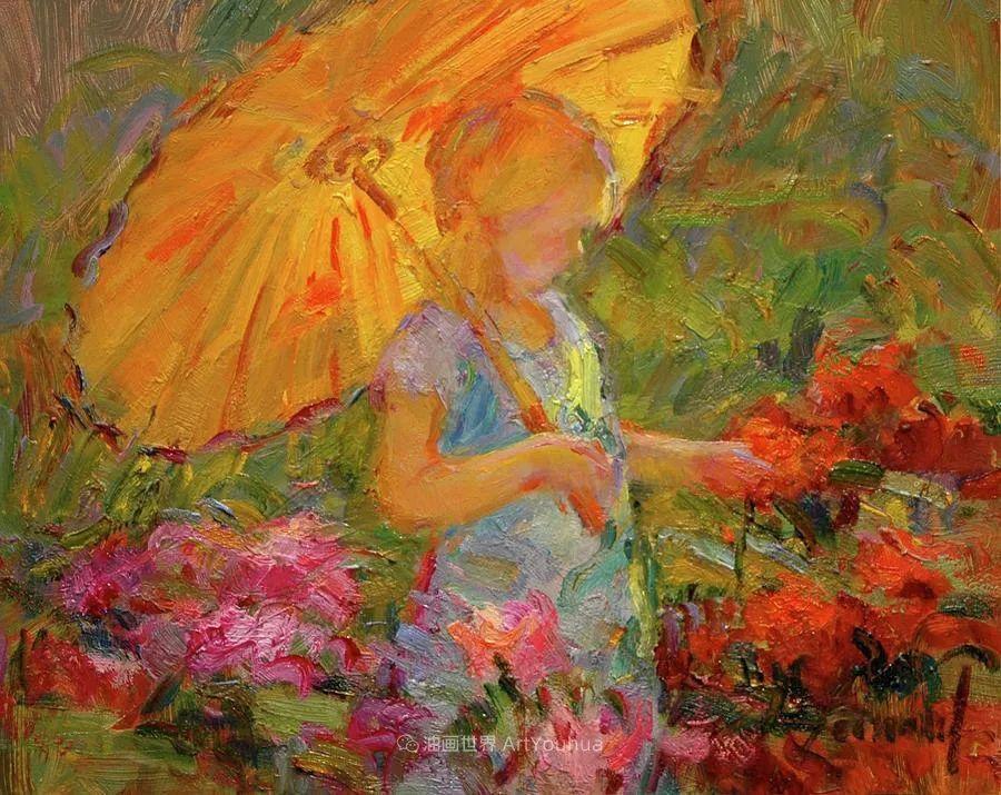 自学成才的她,画里充满了色彩、光和大大的笔触!插图43