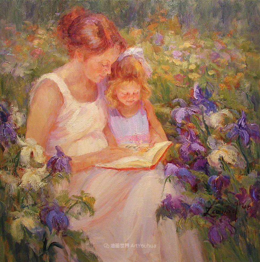 自学成才的她,画里充满了色彩、光和大大的笔触!插图47