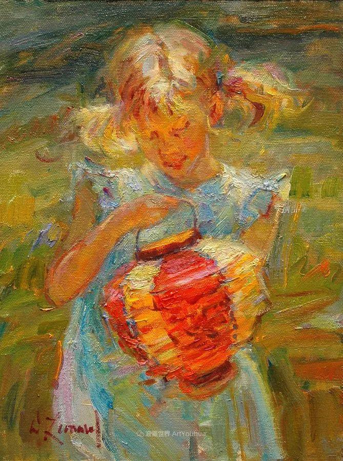 自学成才的她,画里充满了色彩、光和大大的笔触!插图53