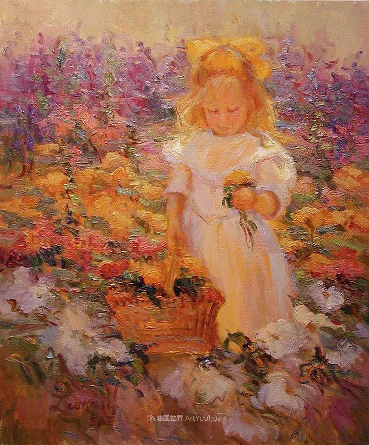自学成才的她,画里充满了色彩、光和大大的笔触!插图57