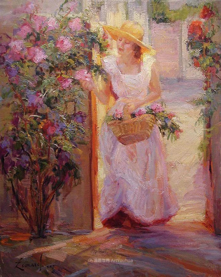 自学成才的她,画里充满了色彩、光和大大的笔触!插图59