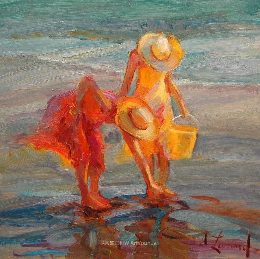 自学成才的她,画里充满了色彩、光和大大的笔触!插图71