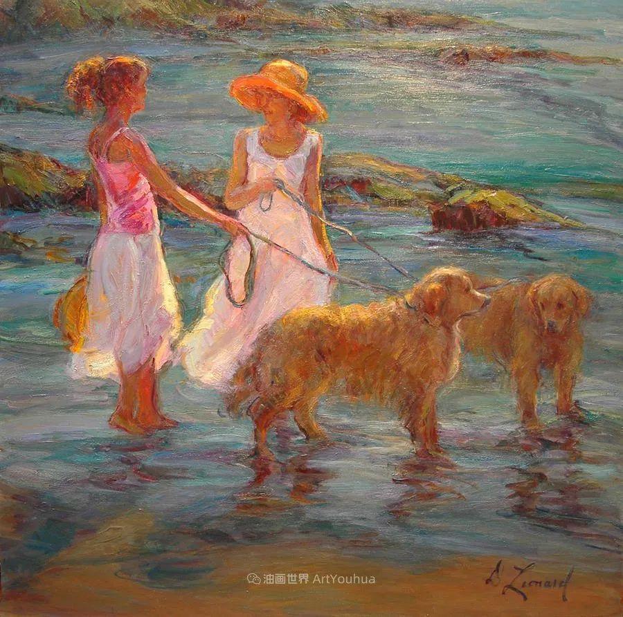 自学成才的她,画里充满了色彩、光和大大的笔触!插图73