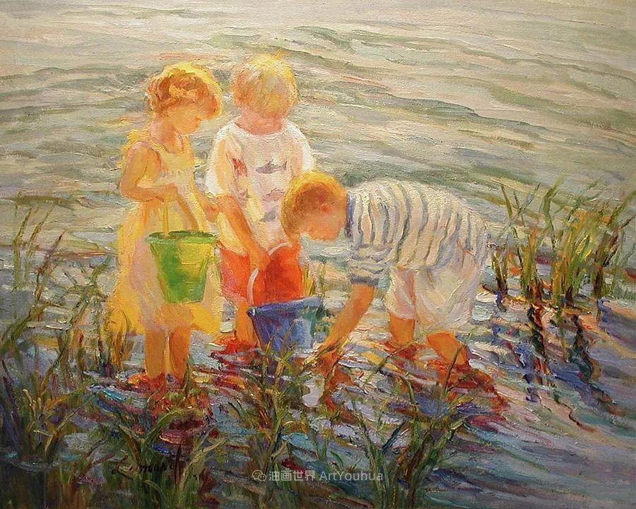 自学成才的她,画里充满了色彩、光和大大的笔触!插图75
