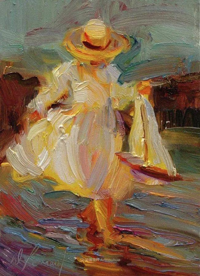自学成才的她,画里充满了色彩、光和大大的笔触!插图77