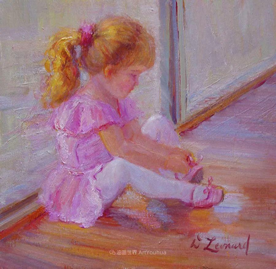 自学成才的她,画里充满了色彩、光和大大的笔触!插图83