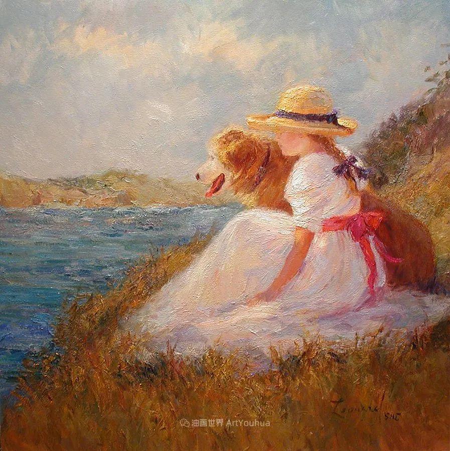 自学成才的她,画里充满了色彩、光和大大的笔触!插图91